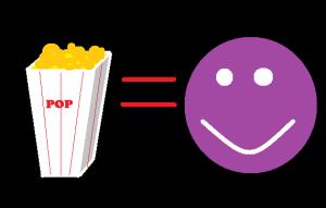 popcorn happy